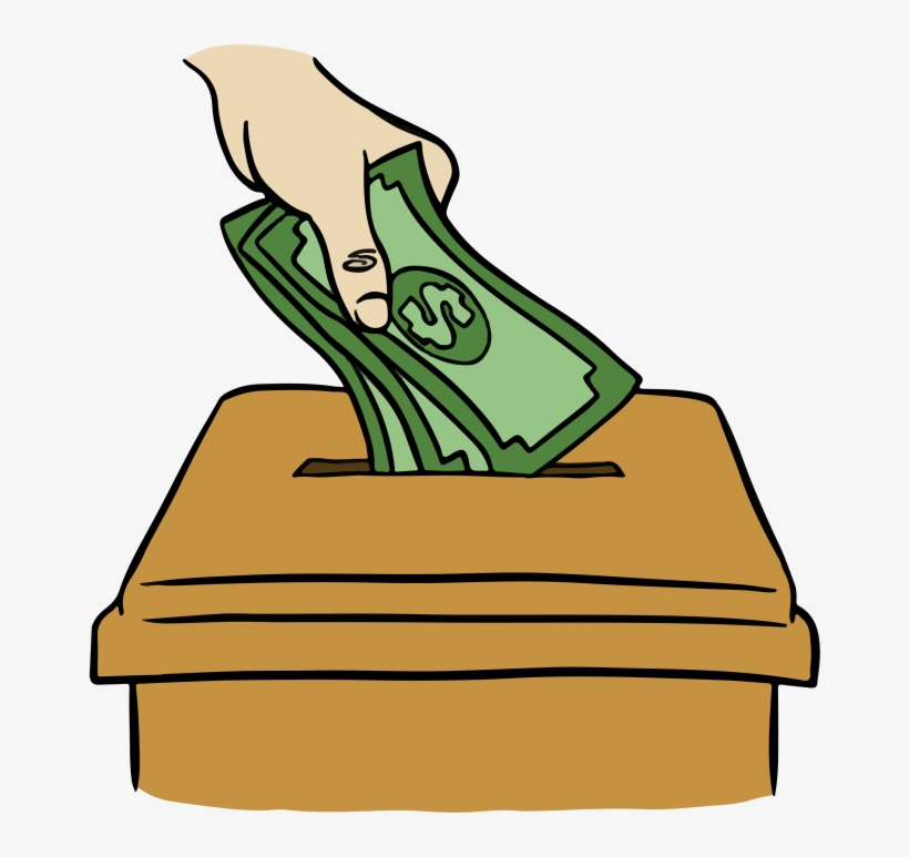 Collection Of 14 Free Donating Clipart Little Money.