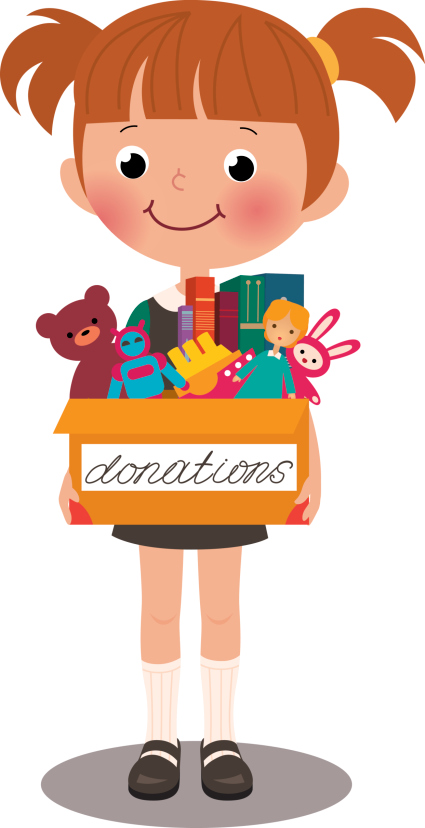 Donating clipart 1 » Clipart Station.