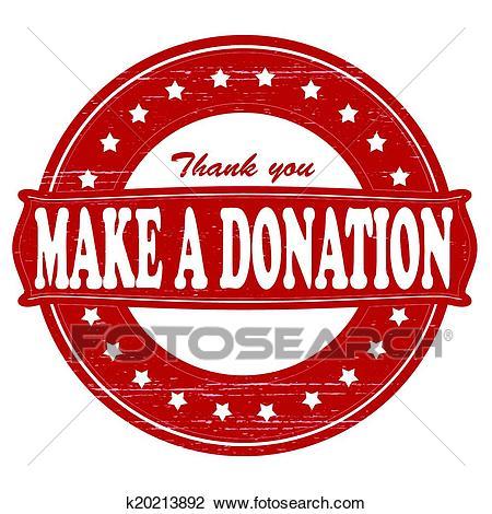 Make a donation Clipart.