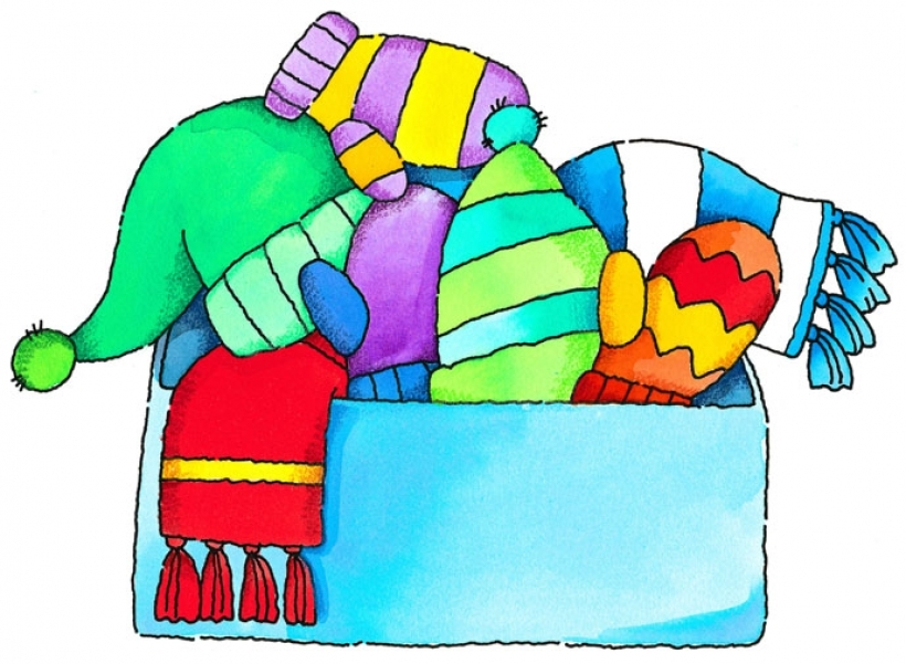 Clothing donation clipart.