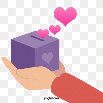 Donation Box PNG Images.