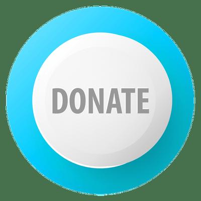 Donate Buttons transparent PNG images.