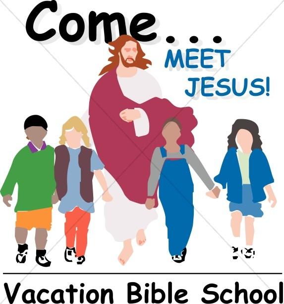 Vacation Bible School Word Art, VBS Word Art.
