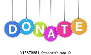 Donation Clipart.
