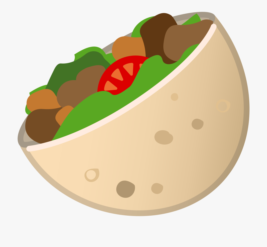 Doner Kebab Emoji , Transparent Cartoon, Free Cliparts.