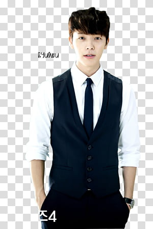 DongHae A Cha transparent background PNG clipart.
