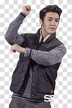 Super Junior Donghae SPAO transparent background PNG clipart.
