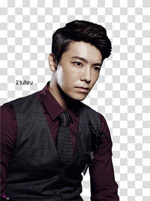 Donghae transparent background PNG clipart.