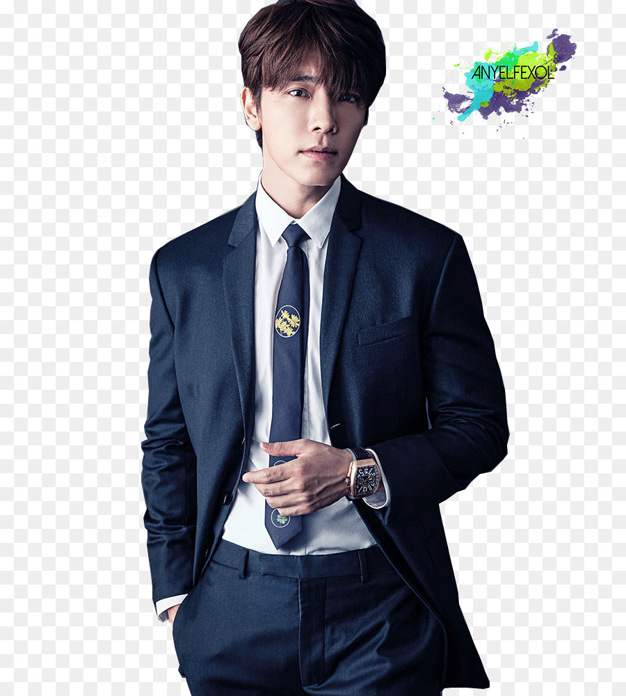 Lee Donghae Suit png download.