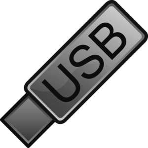 USB Flash Drive Icon.