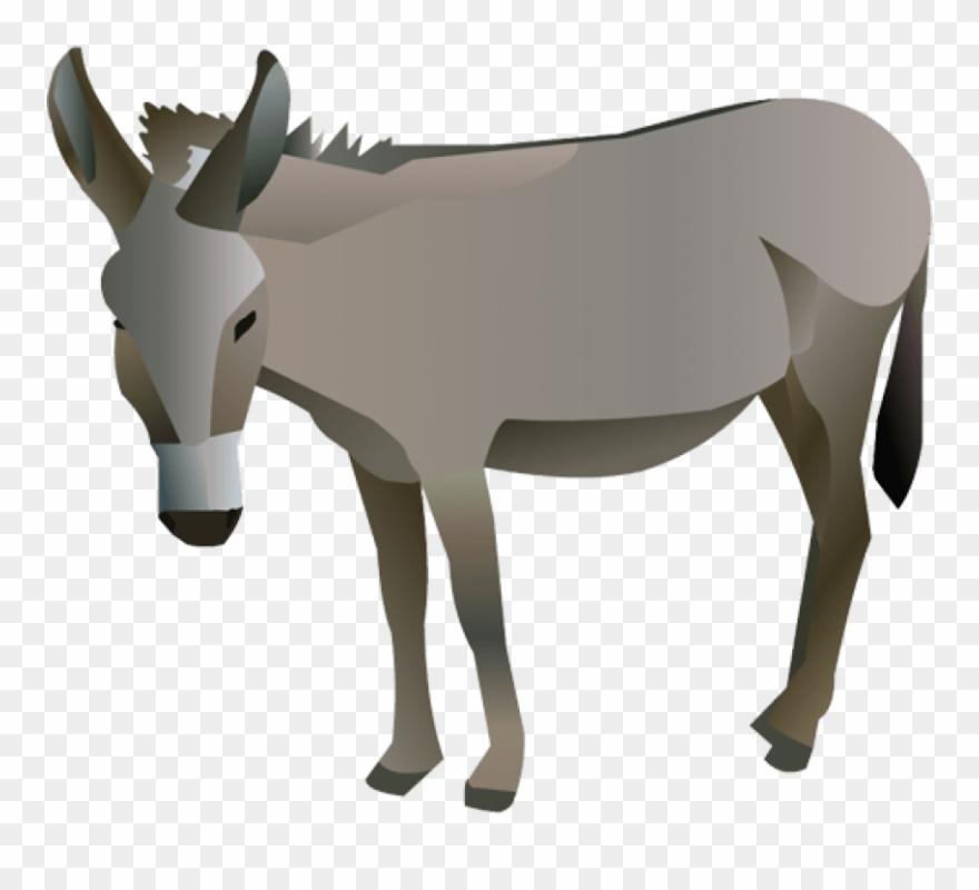 Donkey Clipart Transparent Background.