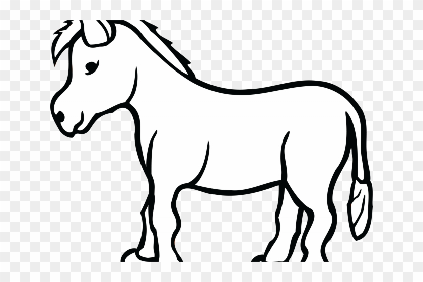 Donkey Clipart Outline.