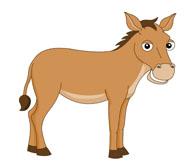 Free Donkey Clipart.