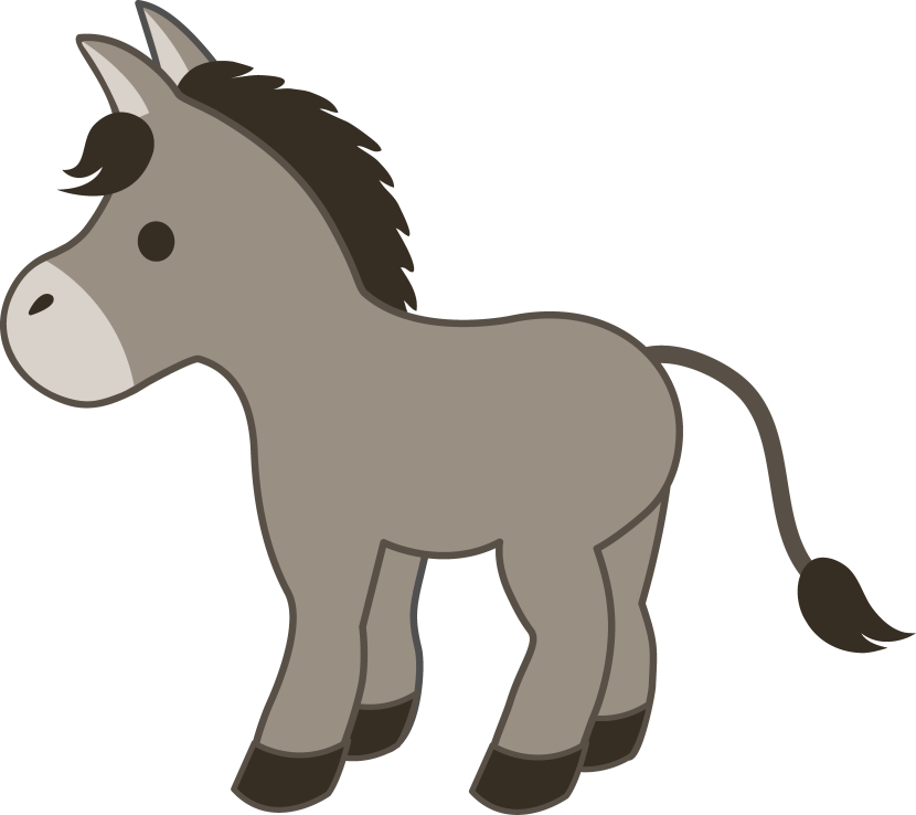 Donkey clipart free download 2 » Clipart Portal.