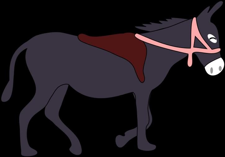 Donkey Free To Use Clipart Image.