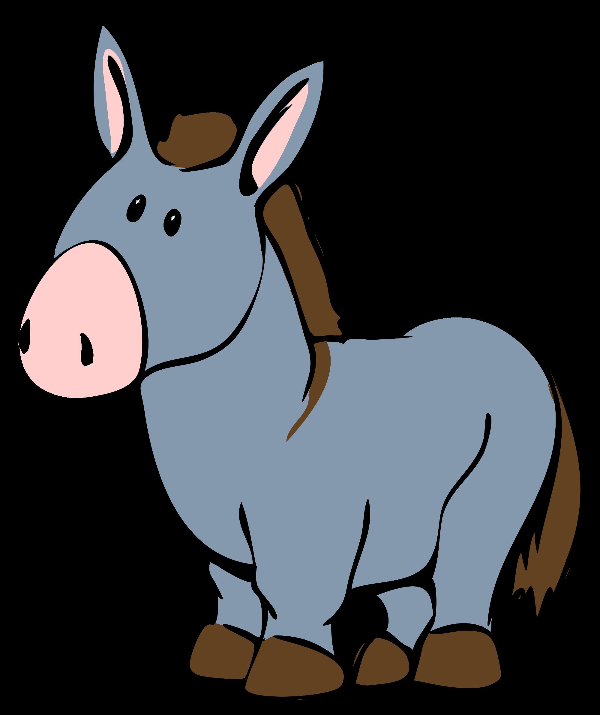 Donkey Drawing.