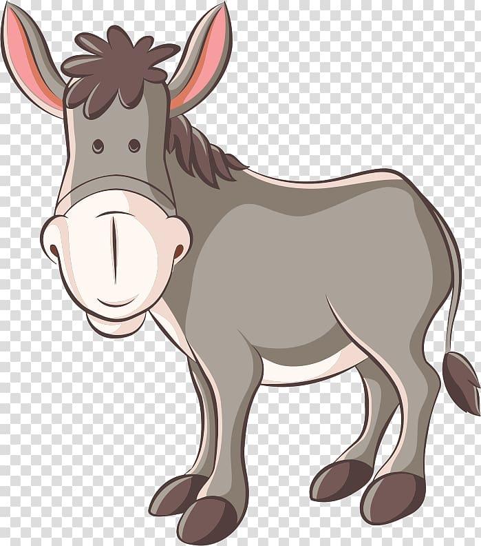 Donkey Mule Horse , donkey transparent background PNG.