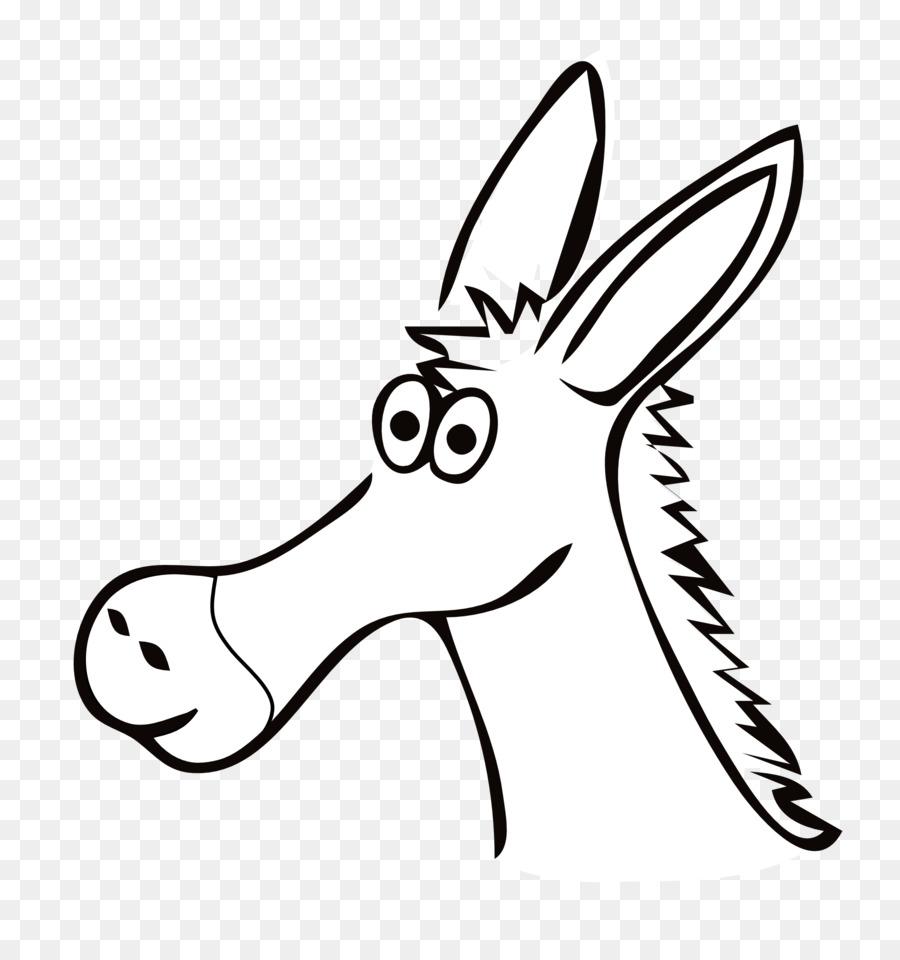 Donkey Cartoon clipart.