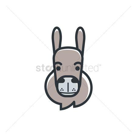 Free Donkey Ears Stock Vectors.