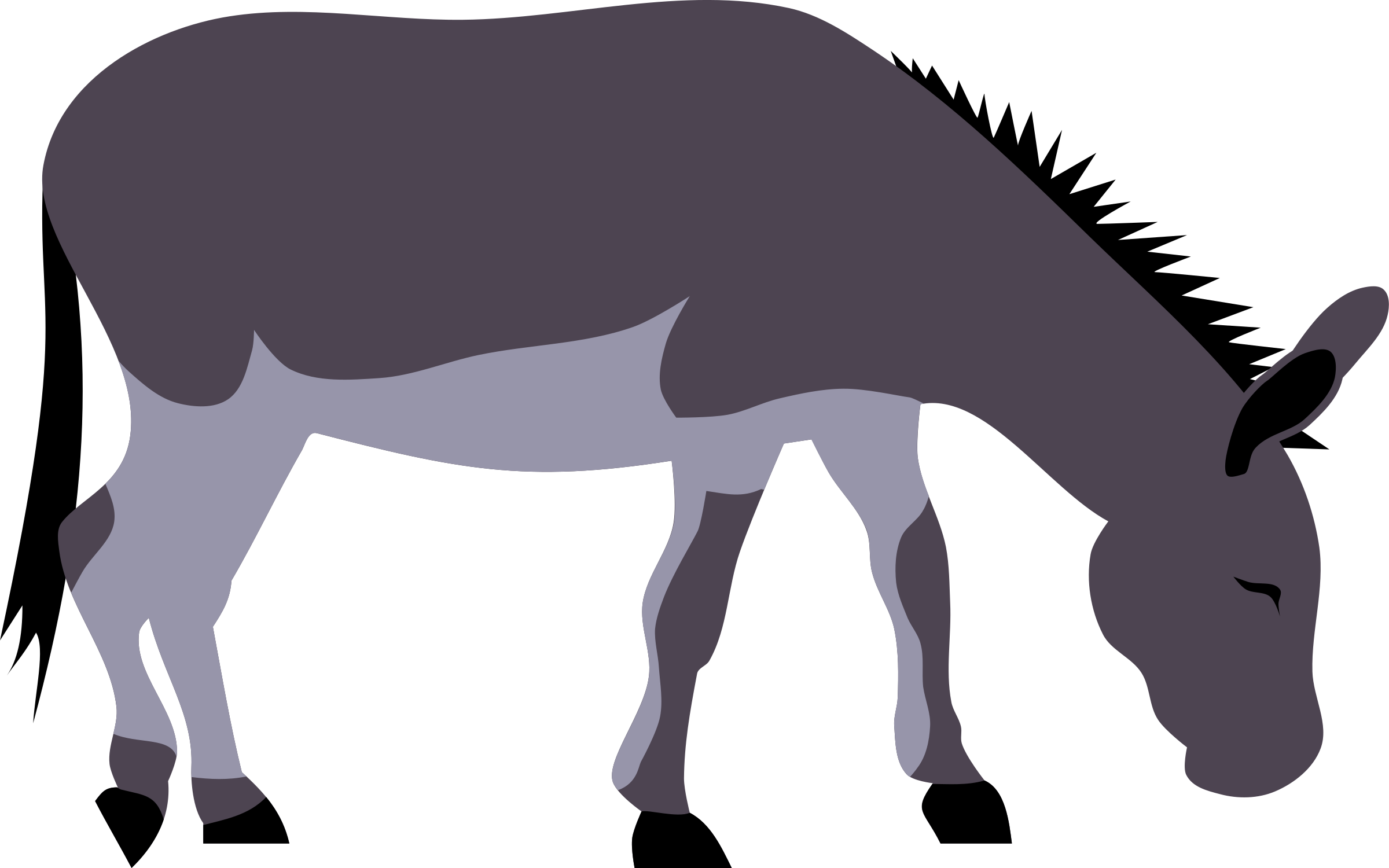HD Png Library Donkey Ears Clipart.