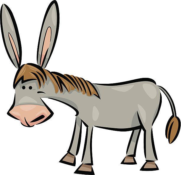 Best Donkey Ears Illustrations, Royalty.