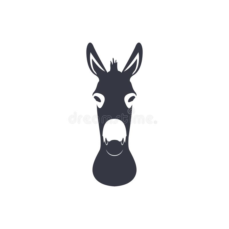 Head Donkey Stock Illustrations.
