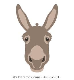 Donkey head clipart 7 » Clipart Station.