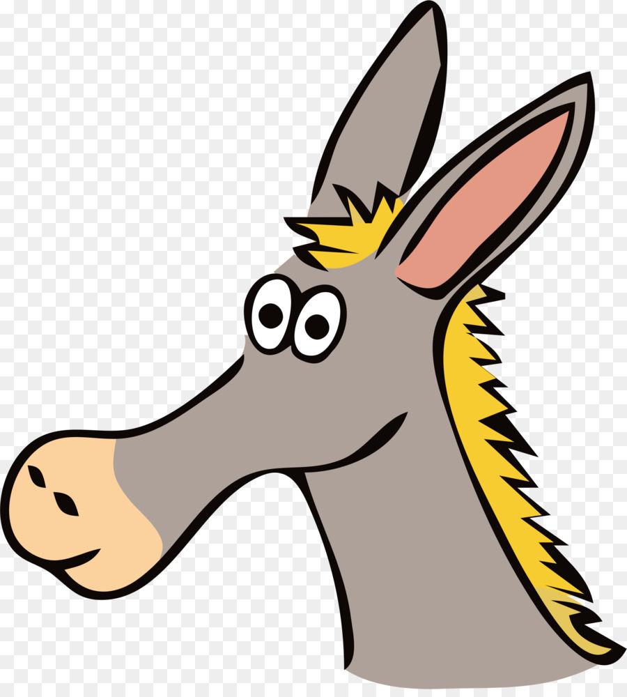 Donkey head clipart 8 » Clipart Station.