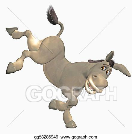Donkey kick clipart 7 » Clipart Portal.