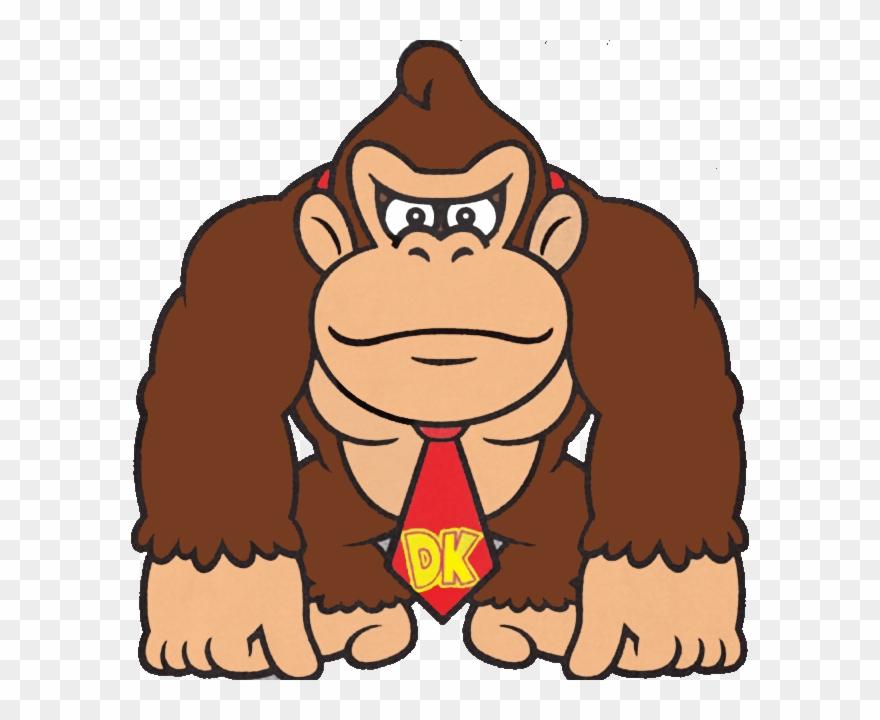 Donkey Kong Clipart (#2704639).