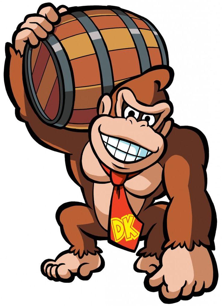 Donkey Kong Clipart.