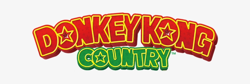 Download Free png Donkey Kong Country Logo.