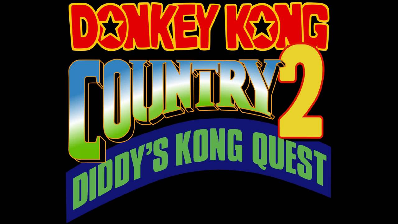 Rareware Logo Donkey Kong Country 2 Diddy\'s Kong Quest SNES Music HD.