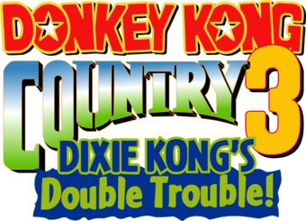Donkey Kong Country 3: Dixie Kong\'s Double Trouble.