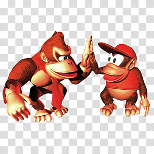Donkey Kong transparent background PNG cliparts free download.