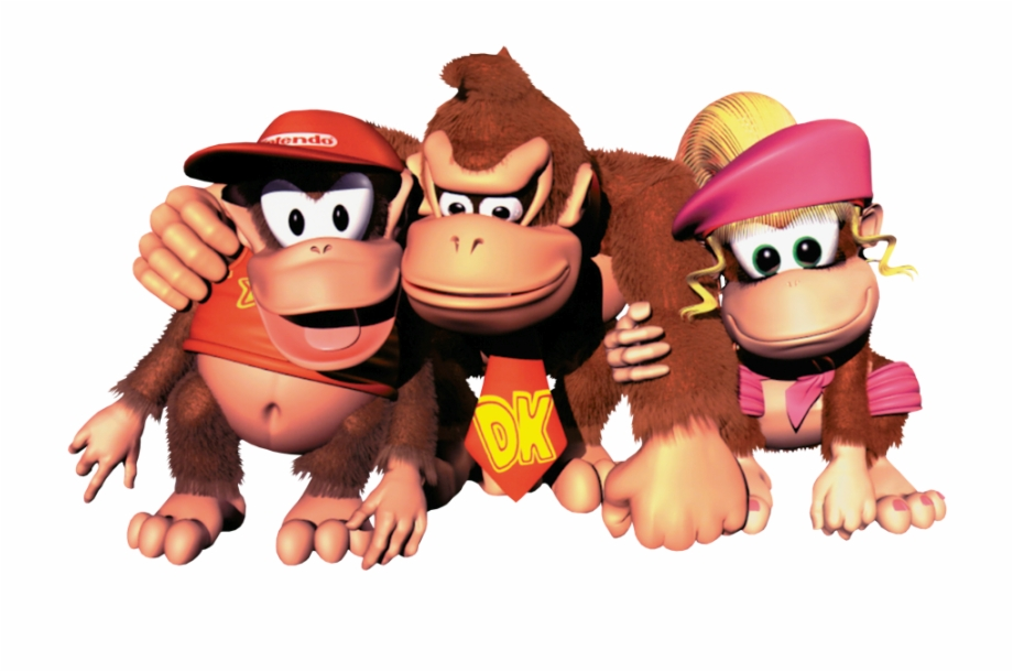 Donkey Kong Country 2 Png.