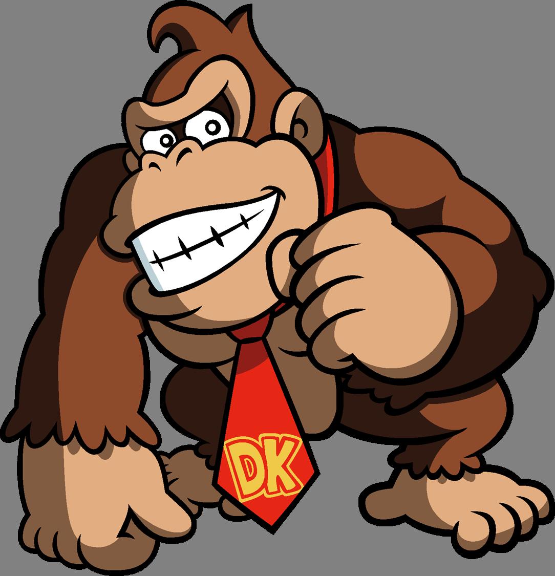Donkey Kong PNG Image File.