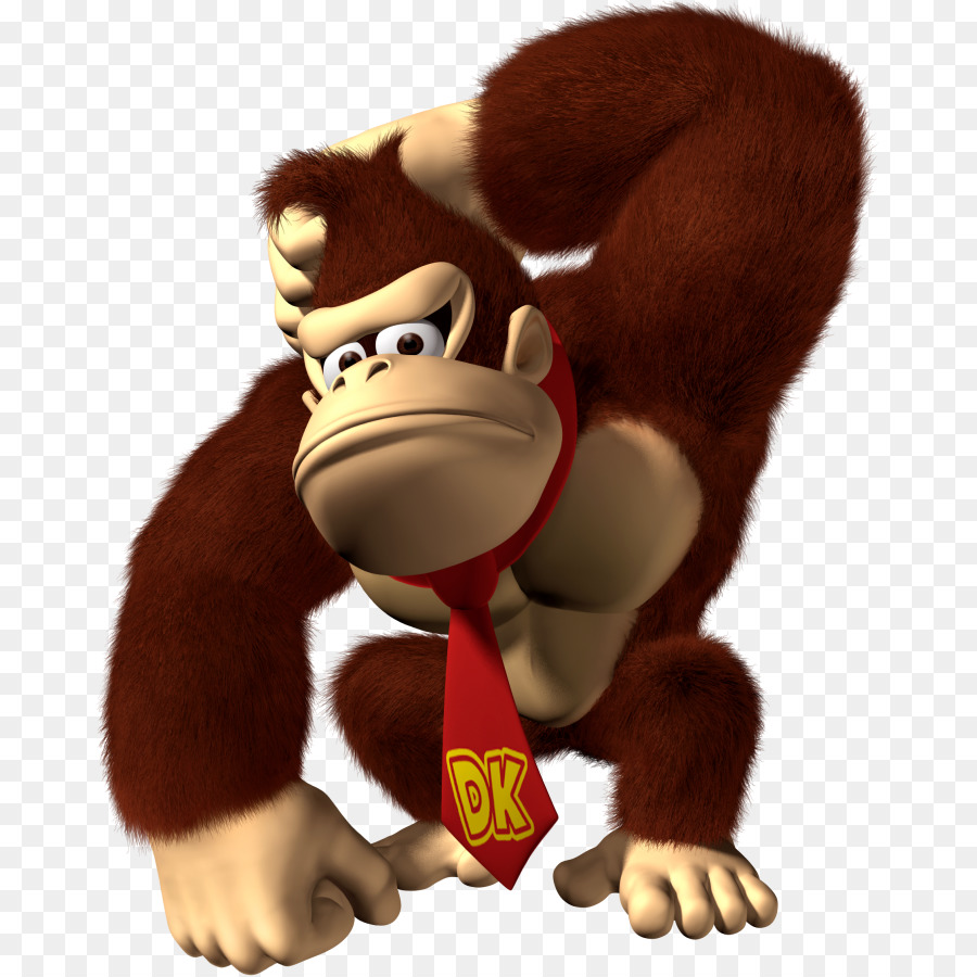 Donkey Kong Stuffed Toy png download.