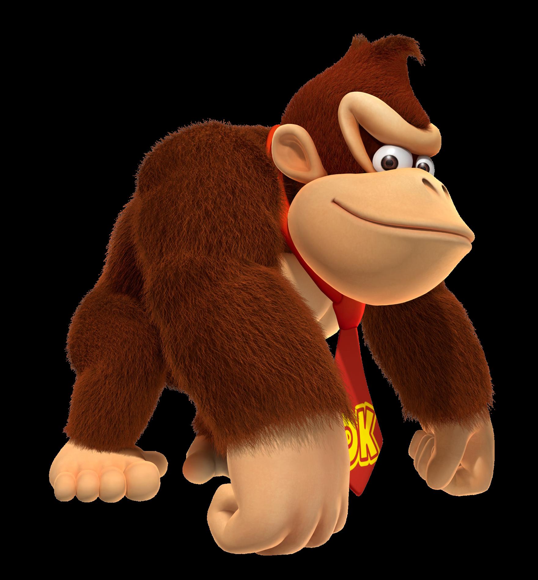 Donkey Kong PNG Photo.