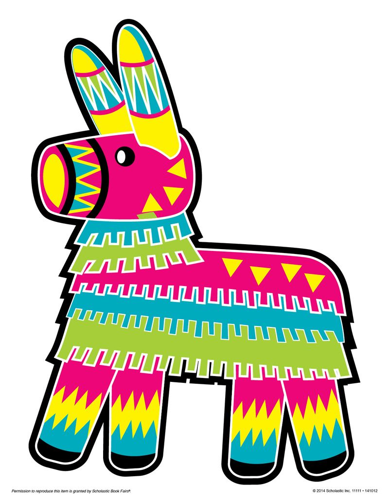 Donkey Pinata Clipart Rf Pinata Clipart Pictures To Pin On Pinterest.