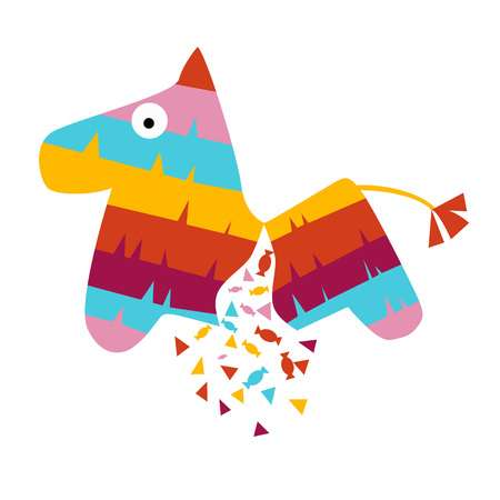 148 Donkey Pinata Stock Illustrations, Cliparts And Royalty Free.