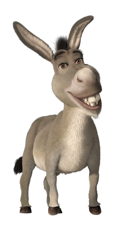 Donkey PNG Transparent Images.