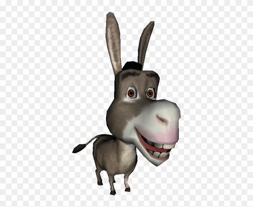 Mule Clipart Shrek Character.