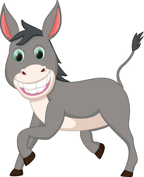 Donkey Pictures Clipart Cute.