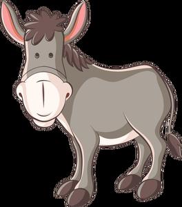 83 donkey free clipart.