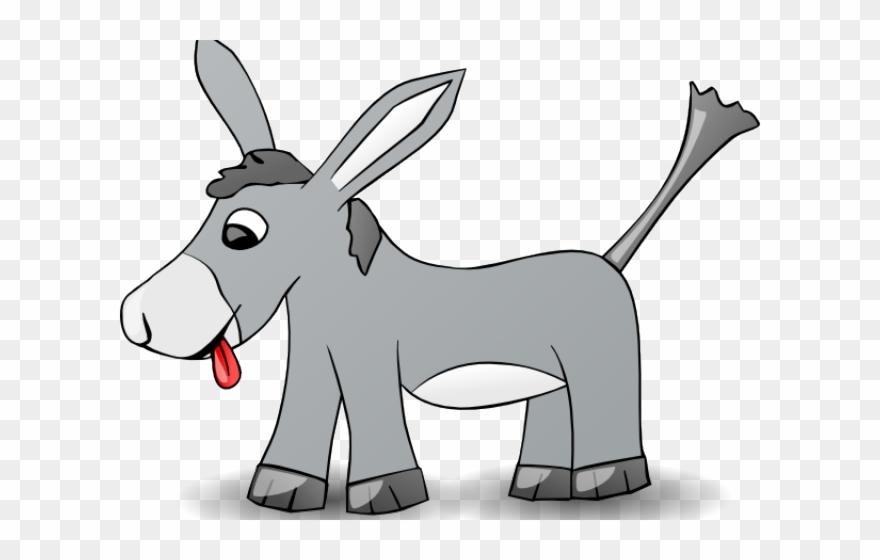 Donkey Clipart Gray.
