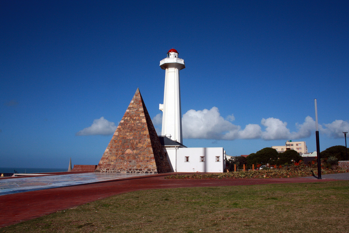 Views of the Donkin Reserve lighthouse.