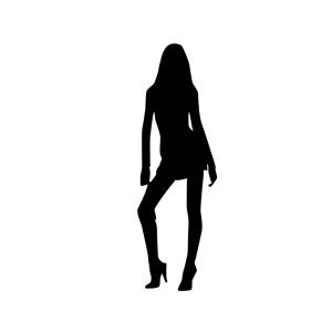 Donna in piedi 01 clipart, cliparts of Donna in piedi 01 free.