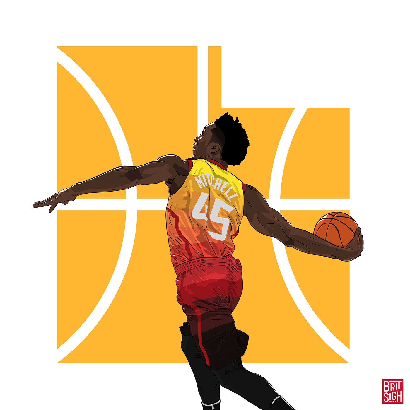 Donovan Mitchell on Behance.