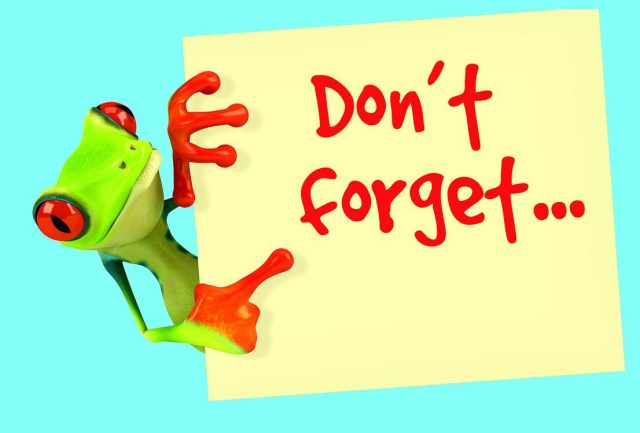 Reminder clipart dont forget for free download and use images in.